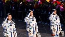 Astronautas chineses retornam à Terra em segurança