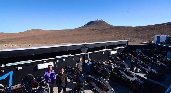 Equipe internacional de astrônomos fez suas pesquisas no Deserto do Atacama