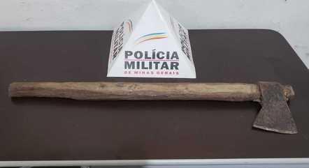 Arma do crime foi apreendida pela polícia
