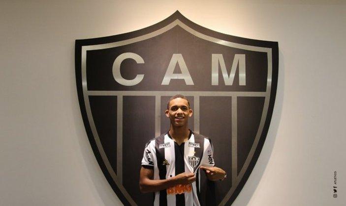 Atacante colombiano do Atlético-MG, Borrero tem 19 anos e seu contrato vai até dezembro de 2024
