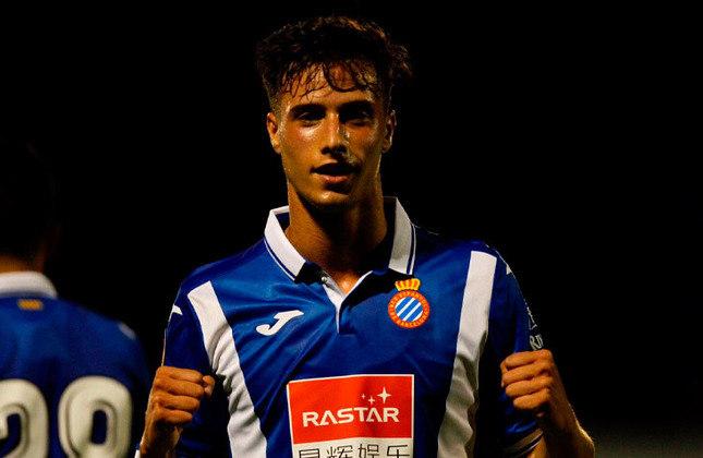 Atacante: Javi Puado - Idade: 23 anos - Clube: Espanyol - Situação na equipe olímpica: reserva - Valor de mercado segundo o Transfermarkt: 6 milhões de euros (aproximadamente 36,89 milhões de reais)