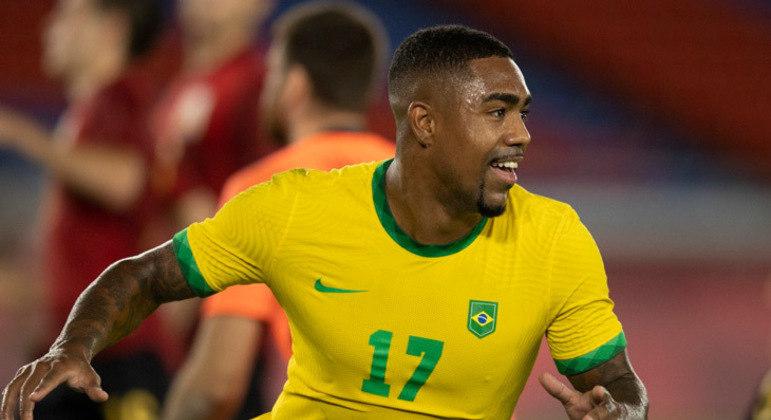 Malcom foi convocado para jogos contra Chile, Argentina e Peru pelas Eliminatórias