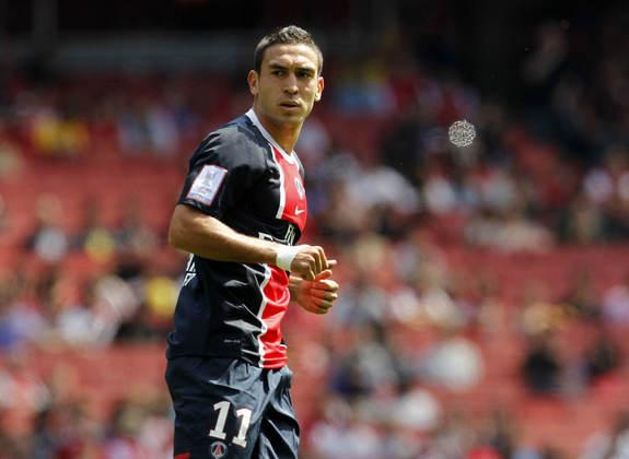 Atacante: Mevlüt Erdinc (turco) - 24 anos na época (entrou no lugar de Mathieu Bodmer aos 24 minutos do segundo tempo) - camisa 11 - atualmente no Karagümrük (TUR)