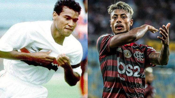 Atacante — Muller x Bruno Henrique