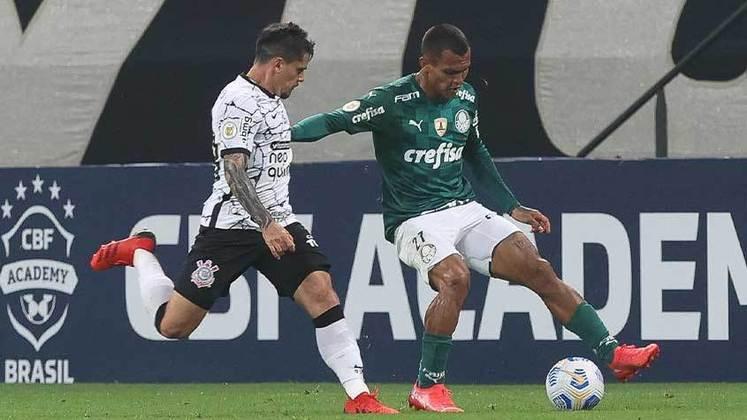 Atacante pela esquerda: Gabriel Veron (Palmeiras) - 16 milhões de euros (R$ 100,8 milhões) - Michael (Flamengo) - 3 milhões de euros (R$ 18,9 milhões).