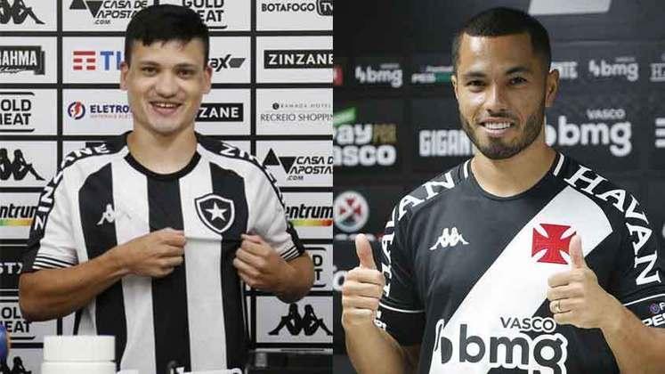 ATACANTES: O Vasco contratou Morato e Léo Jabá, e o Botafogo contratou Ronald e Marcinho.
