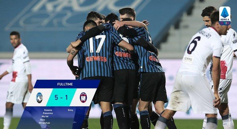 A Atalanta, próxima adversária da Inter líder