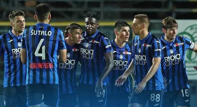 Fim do primeiro tempo, Atalanta 4 X 1 Brescia