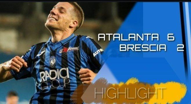 A capa do Twitter da Atalanta