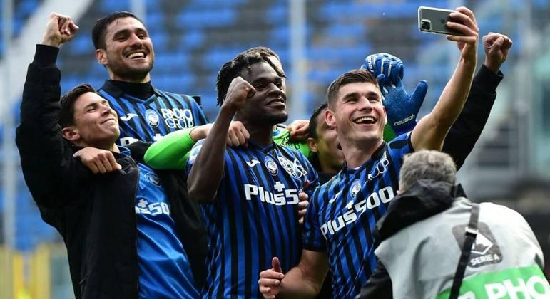 Atalanta 1 X 0 Juventus, sem o CR7, festa em Bérgamo