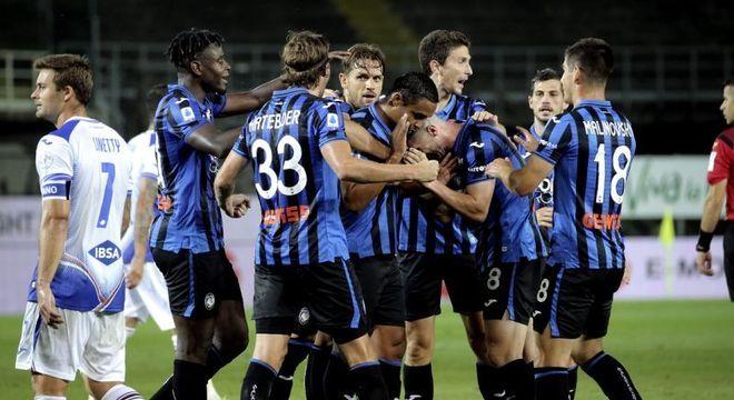 Atalanta encanta a Itália. Time extremamente ofensivo e veloz