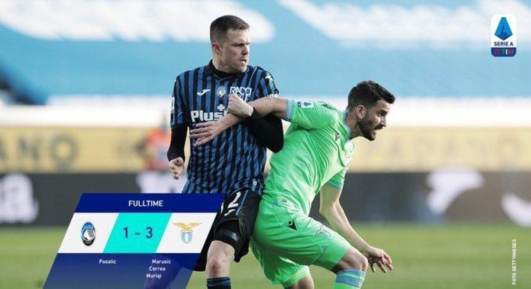 Atalanta, única a perder antes das semis da Copa Itália