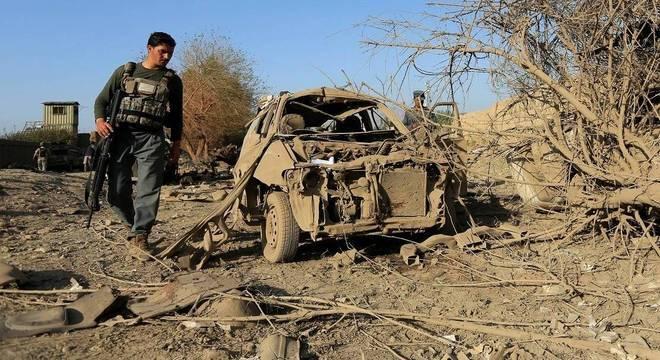 Dezenas de pessoas ficaram feridas no ataque