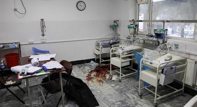 Recém-nascidos estão entre vítimas do ataque em maternidade