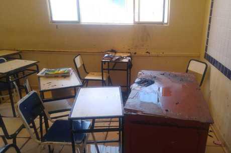 Ataque aconteceu em uma escola estadual