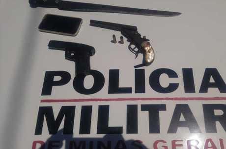 Armas usadas no crime foram apreendidas