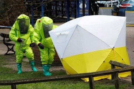 Substância foi usada no ataque a ex-agente russo