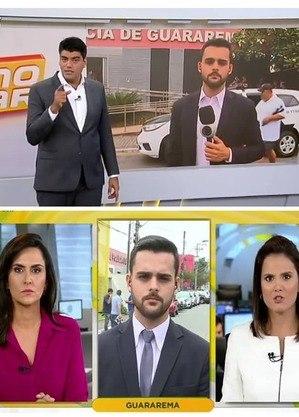 Participação, ao vivo, no SP no Ar e Fala Brasil