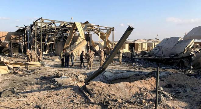 Ataque iraniano a base norte-americana no Iraque causou lesões cerebrais