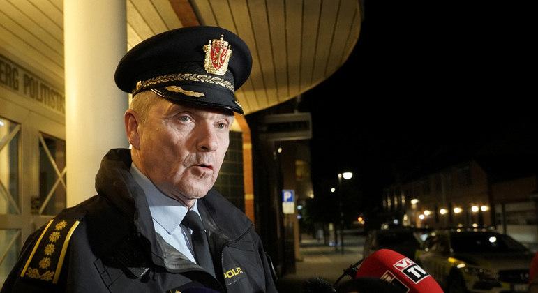 O chefe de polícia Øyvind Aas afirmou que o ataque pode ser terrorismo