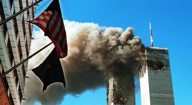 ...quando os EUA foram alvo dos ataques de 11 de Setembro