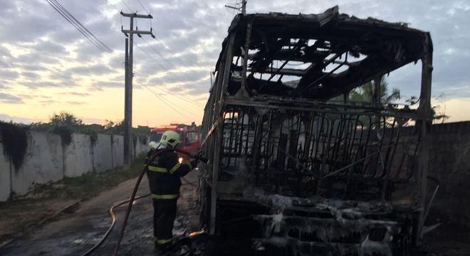 Três suspeitos foram identificados pelos ataques a ônibus em Fortaleza