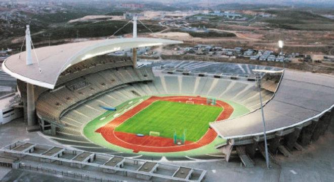 O Ataturk Olympic de Istambul