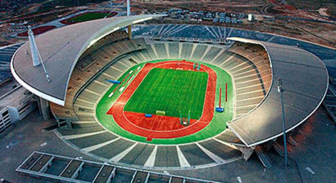 O Olímpico de Ataturk, em Istambul, na Turquia