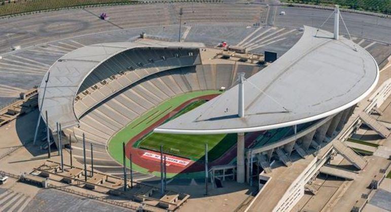 O Ataturk Olympic de Istambul, na Turquia, sede da decisão da LC
