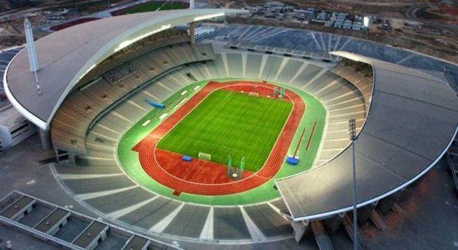 O Olímpico de Ataturk, em Istambul, Turquia