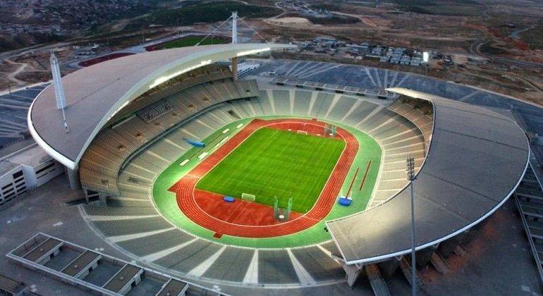 O Ataturk Olympic, sede da decisão