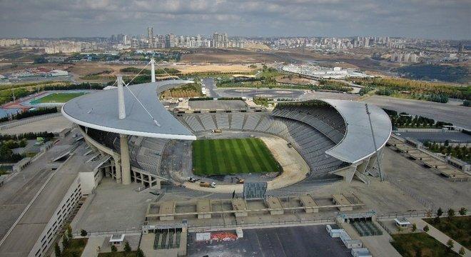 O Ataturk Olympic, em Istambul