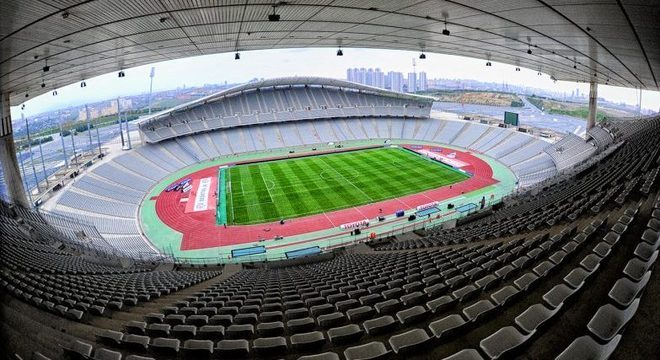 O Ataturk Olympic de Istambul, na Turquia