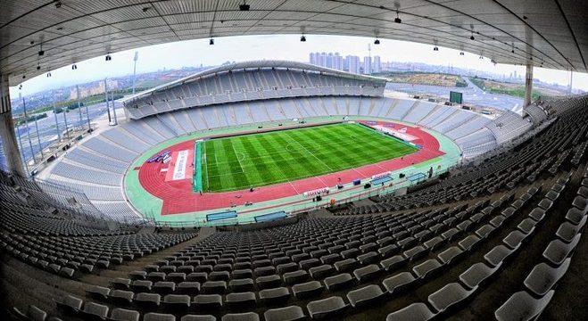 O Ataturk Olympic de Istambul. na Turquia