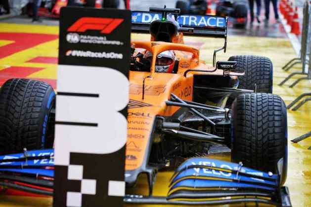 Até aqui, a melhor posição de largada de Carlos Sainz Jr era o quinto lugar