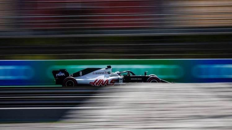 Até mesmo Grosjean ficou surpreso com a performance do carro nos treinos
