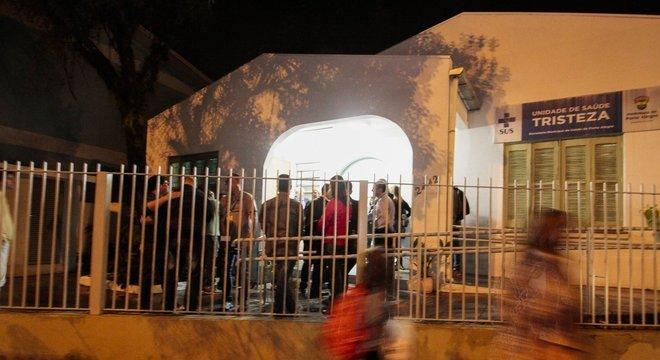 Atendimento em horário estendido começou nesta segunda-feira, no bairro Tristeza Crédito: Cristine Rochol / PMPA / CP