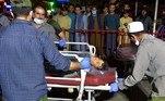 Um levantamento feito pelo Pentágono informou que pelo menos 12 militares dos Estados Unidos foram mortos e outros 15 ficaram feridos nas explosões