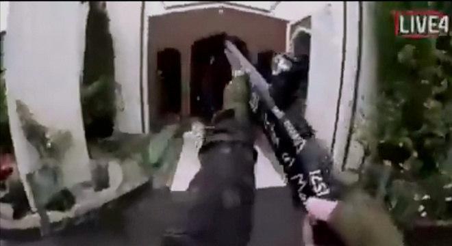 Transmissão ao vivo do ataque contra uma mesquita no Nova Zelândia