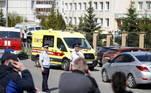 Pelo menos 8 crianças morreram nesta terça-feira (11) depois que um adolescente abriu fogo em uma escola emKazan, cidade na região central daRússia