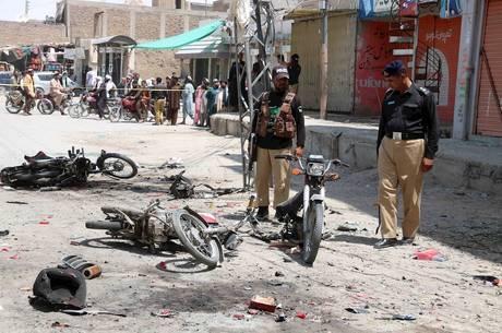 Atentado deixou 24 policiais feridos