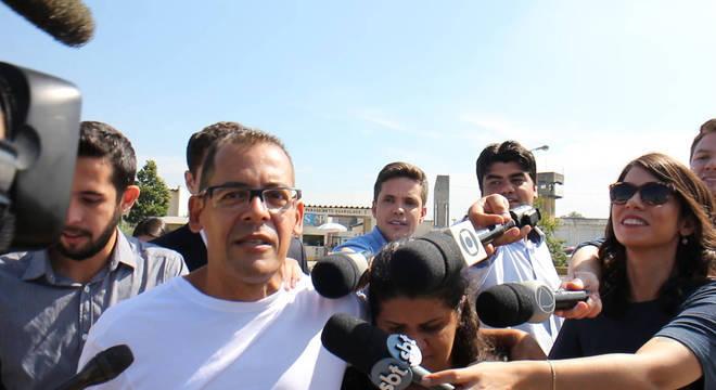 Atercino fala com a imprensa sobre os seus planos
