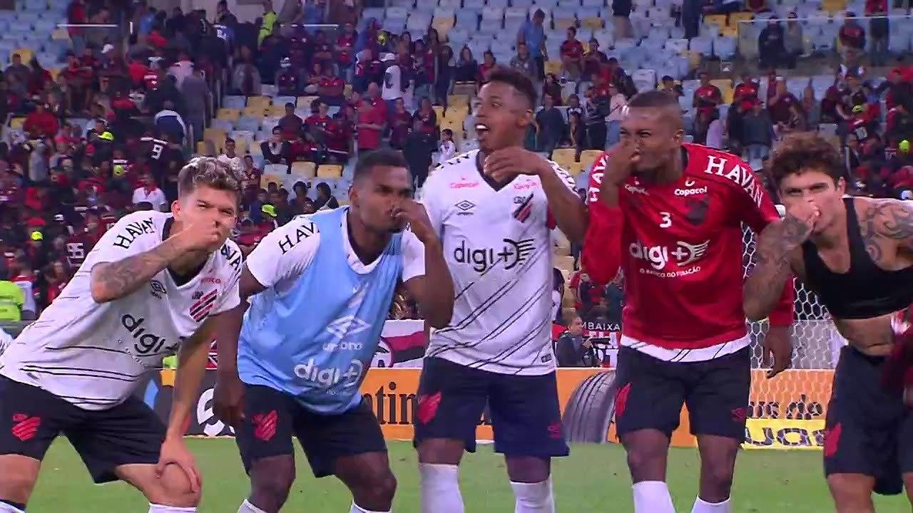 Athletico eliminou o Flamengo em 2019. E ainda ironizou o 'cheirinho' de título