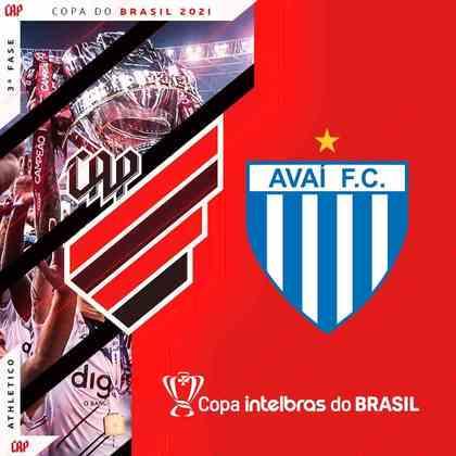 Athletico Paranaense x Avaí