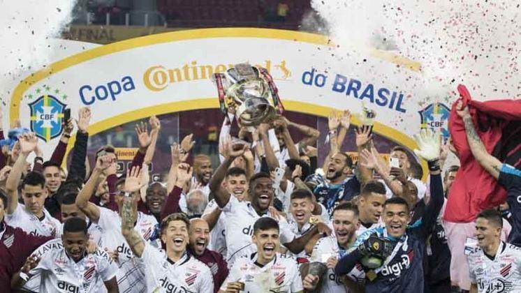 Athletico-PR: 1 título (2019)