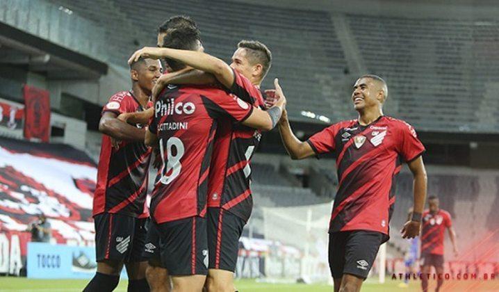 Athletico-PR: 7 gols na temporada (Campeonato Paranaense e Sul-Americana)