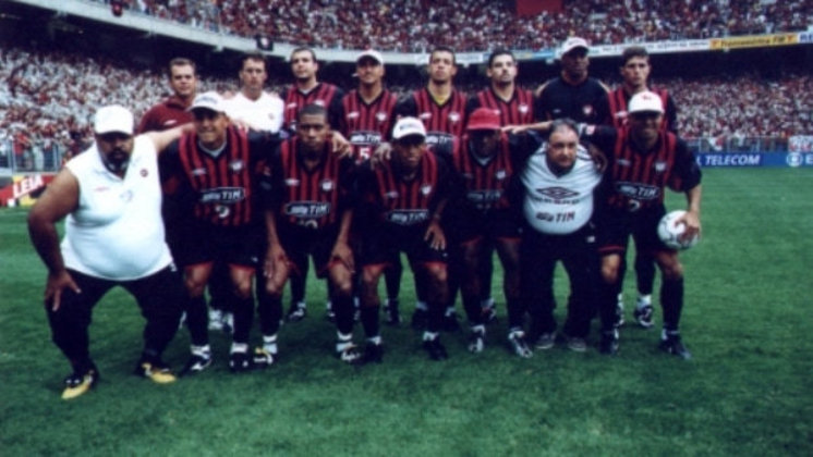 Athletico-PR - Último título brasileiro - 2001 - Anos na fila do Campeonato Brasileiro: 19 anos