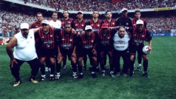 Athletico-PR - um título: 2001
