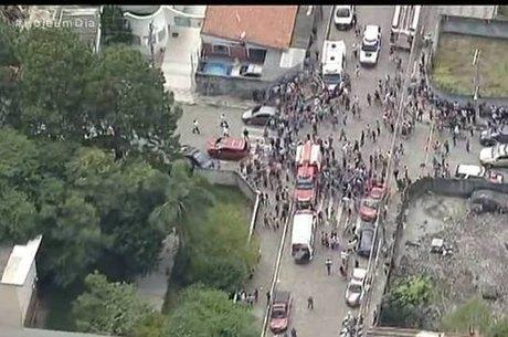 Atiradores invadem escola estadual em Suzano (SP)