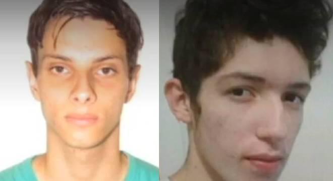 Luiz Henrique de Castro, no lado esquerdo, e Guilherme Taucci Monteiro